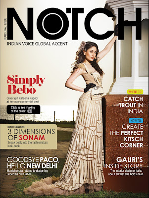 Kareena Kapoor Notch Magazine
