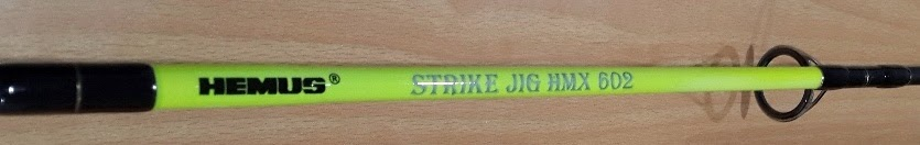 Fishing rod hemus strike jig hmx made in usa for Fishing rods made in usa