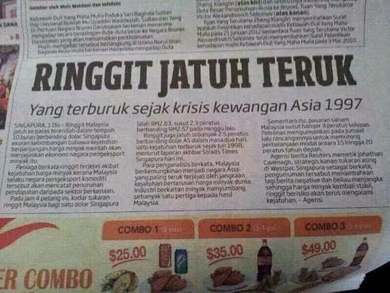 Ringgit Jatuh, Apa Blogger Perlu Buat?