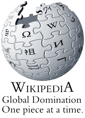 Wikipedia, taking over the world