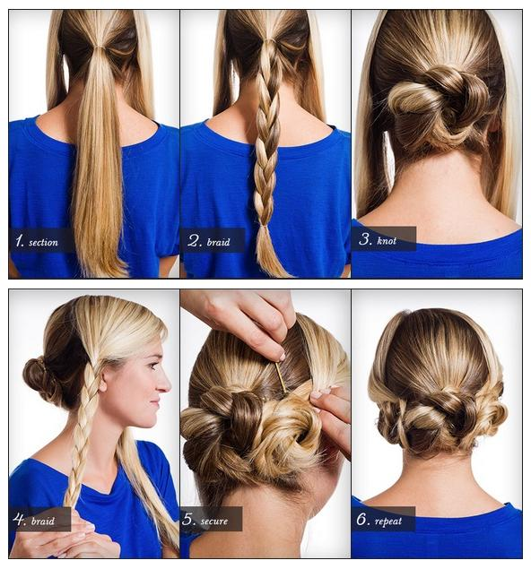 How To Style a Triple Braided Bun