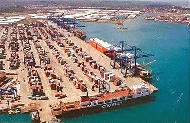 que es el área de operaciones portuarias