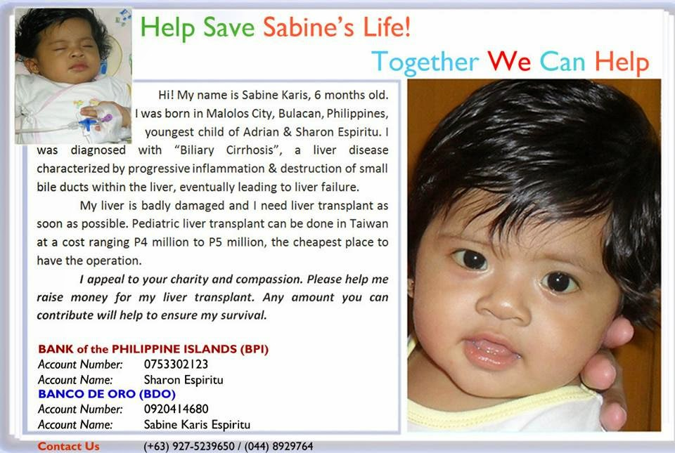 Liver Transplant Fundraising: Help Save Sabine's Life
