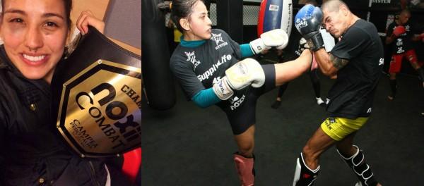 Lutadora de MMA descobre ter competido grávida