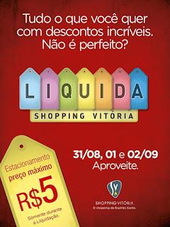 Liquidação No Shopping Vitória 2012