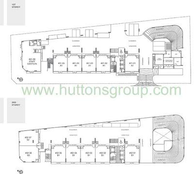 Novelty Bizcentre 2nd Storey Floor Plans