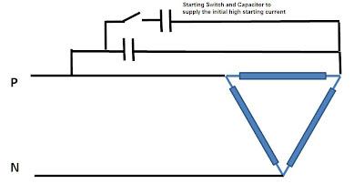 Running three phase motors with single phase supply for How to run a three phase motor on single phase