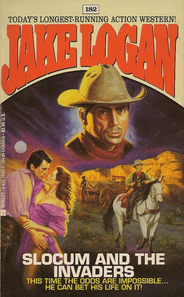 Rough Edges: Forgotten Books: Slocum and the Invaders
