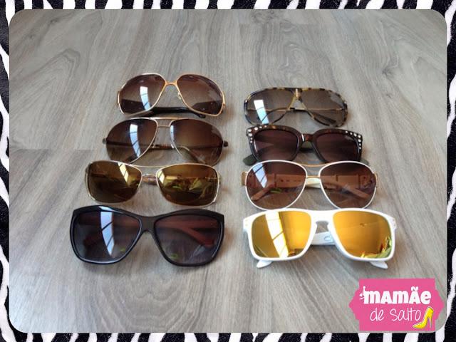 óculos de sol blog mamãe de salto ===> todos os direitos autorais reservados para blog Mamãe de Salto