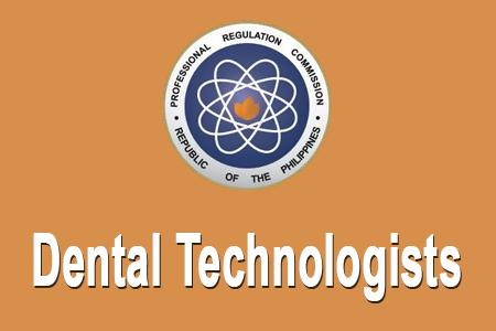 Dental Technologists Board Exam Results December 2014