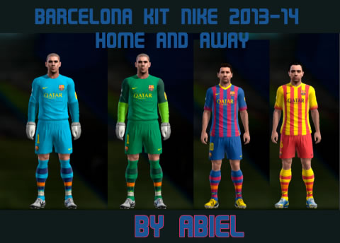 2013/14 by Abiel ~ PESKITS.com | Pro Evolution Soccer y Winning Eleven