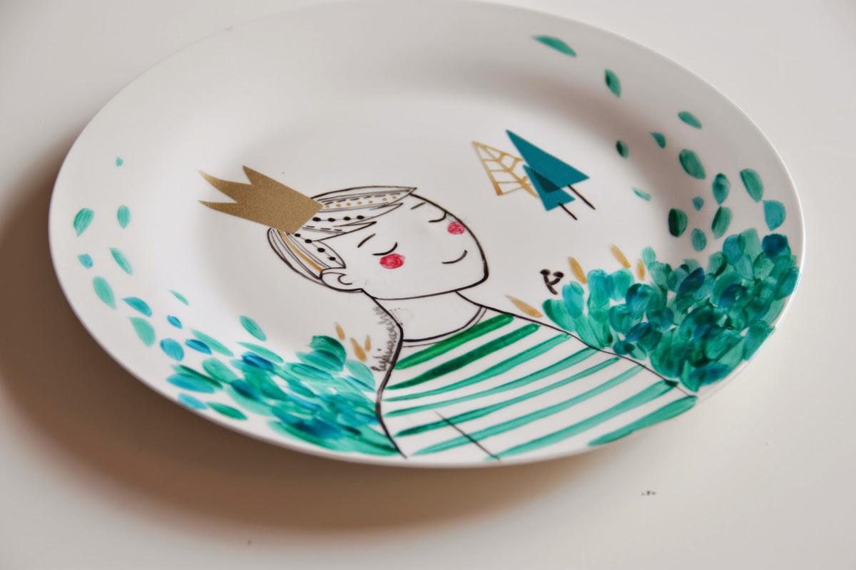 Lydia s nchez illustration cer mica ilustrada - Ceramicas sanchez ...