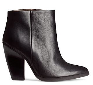 H&M 100% Leather Boots