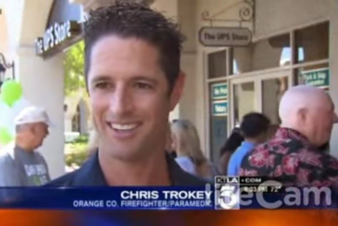 Chris Trokey during his interview