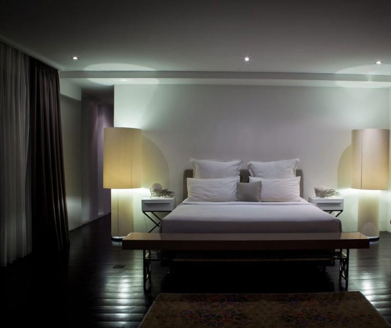 Hogares frescos casa hannah por bo dise o en indonesia for Diseno de habitacion con bano privado