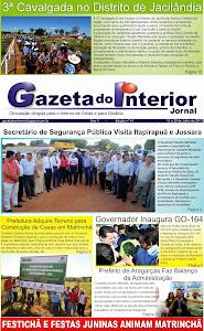 VEJA EDIÇÃO Nº 44 do Jornal Gazeta do Interior