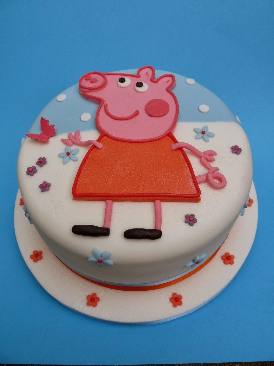 Торт свинка пеппа своими руками видео