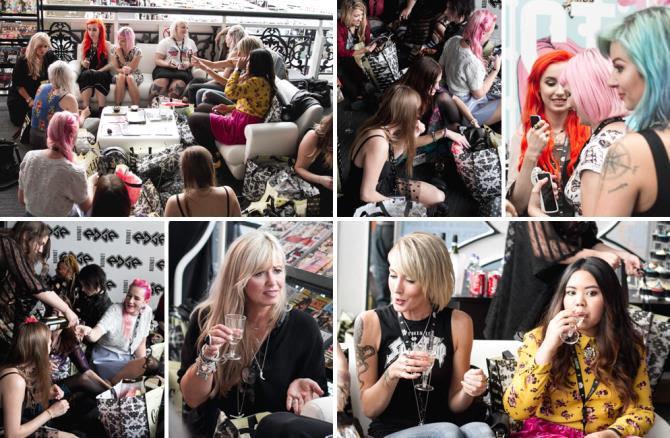 LondonEdge fashion event blog