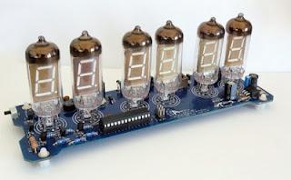relógio VFD AVR