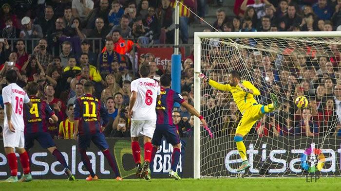 Crónica FC Barcelona 5 Vs Sevilla FC 1