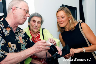 Steve Krensky, Lida Moser and Dr. Alida Anderson de Campello
