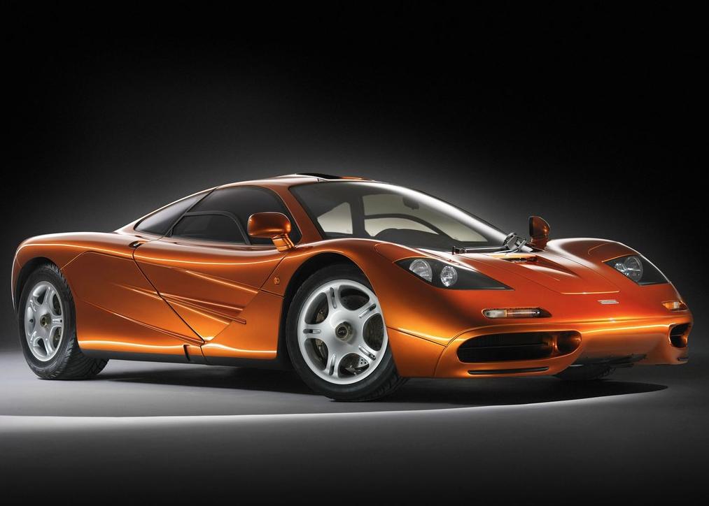 1993 McLaren F1 orange
