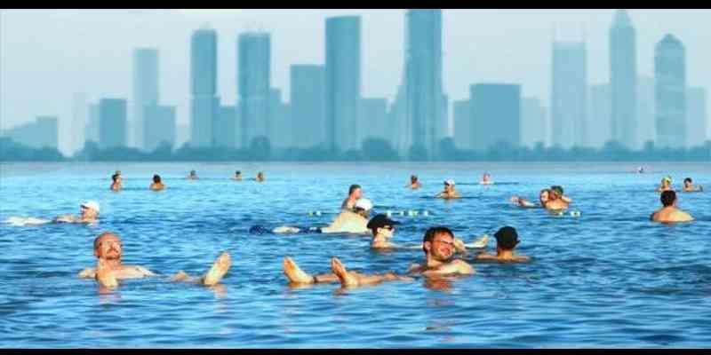 Sejak zaman Cleopatra Air Laut Mati Dipercaya Mempercantik Kulit