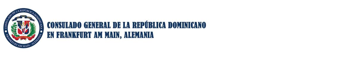 Consulado Dominicano in Frankfurt Main Alemania