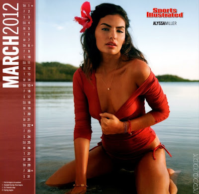 2012 Sports Illustrated Calendar-11