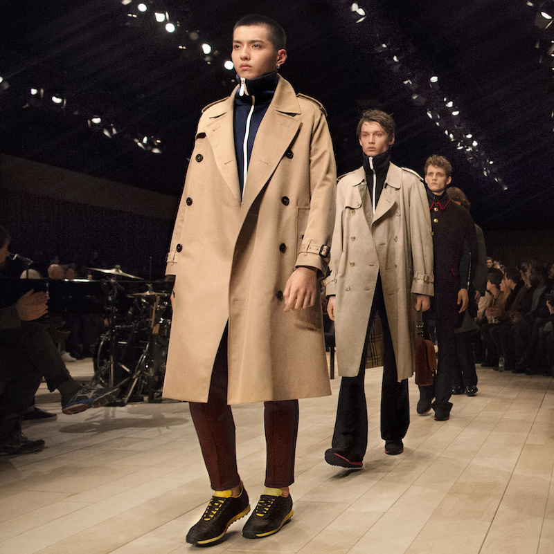Burberry menswear Fall/Winter 2016 at London Collection Mens