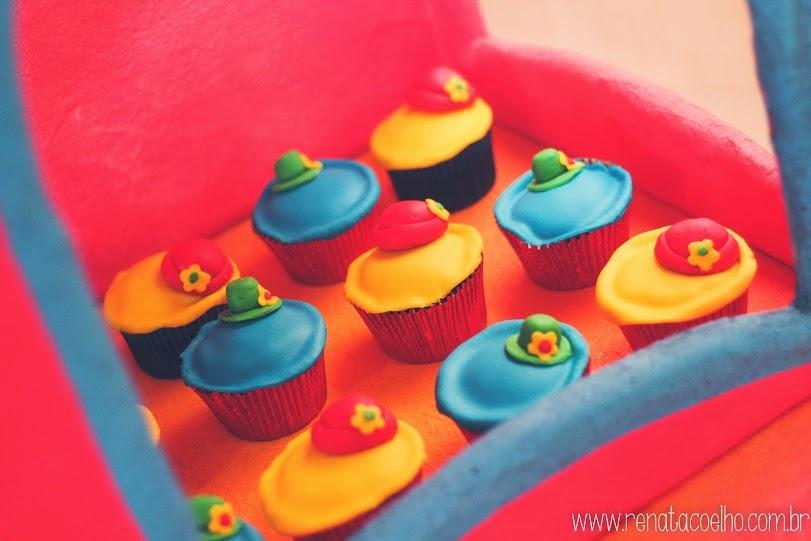 cupcake festa circo