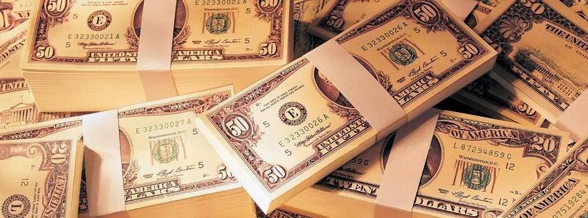 Photo de couverture pour facebook argent
