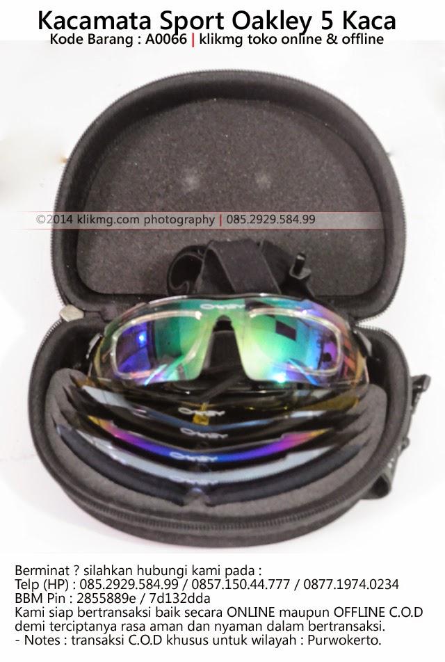 Kacamata Sport Oakley 5 Kaca - Kode Barang : A0066 | klikmg toko online & offline