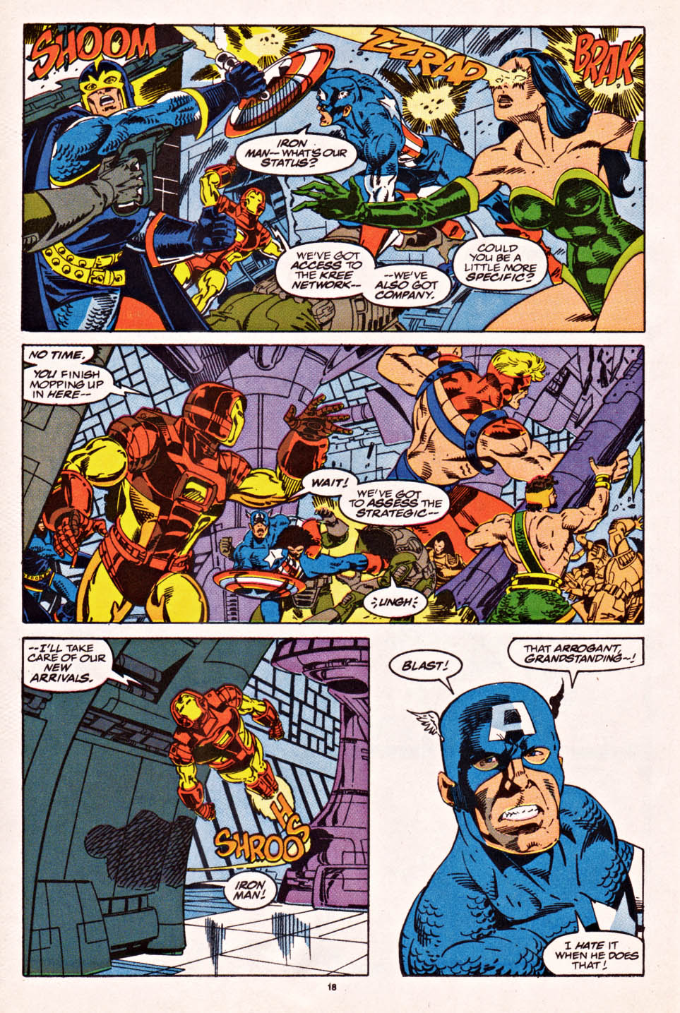 Captain America (1968) Issue #398f #336 - English 15
