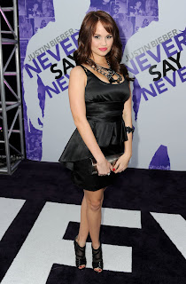 Debby Ryan at the Never Say Never Premiere