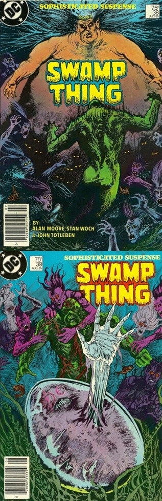 Swamp Thing # 38 39 - Moore, Woch Bissette