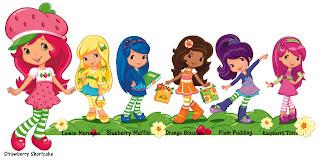 Fruitilla y sus amigas dibujos para imprimir
