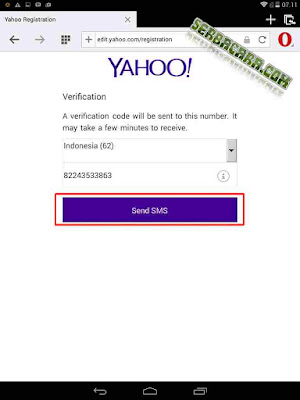Verification Email Yahoo