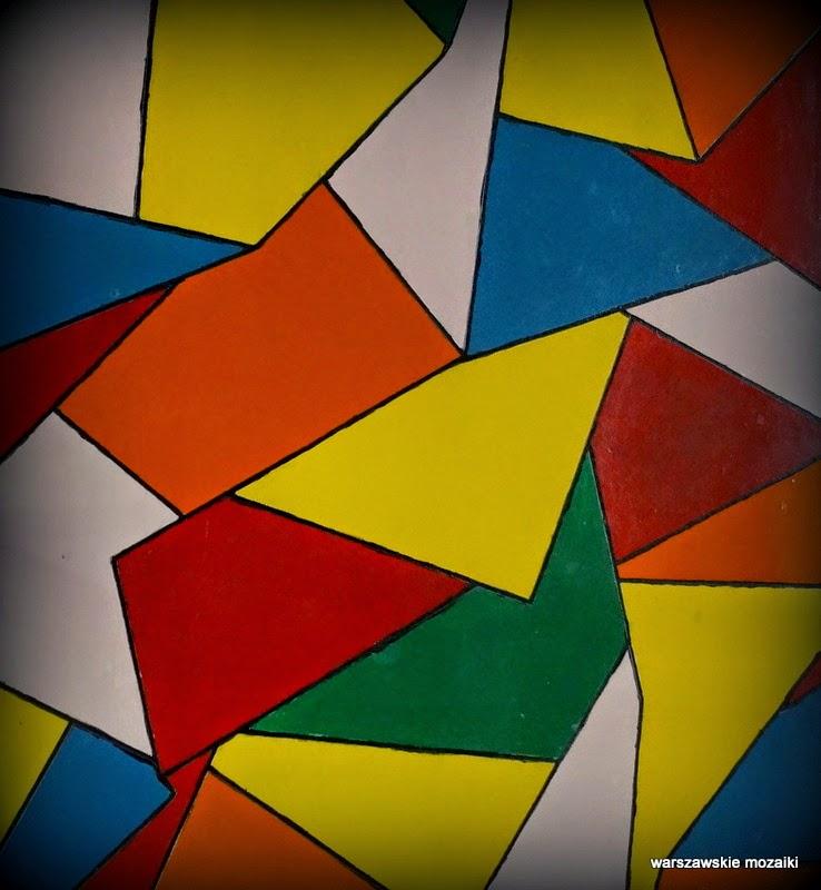 warszawa wola stefan bryła dekoracja lata 60 mozaiki