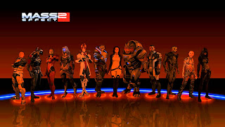 Mass Effect 2 Character Selection