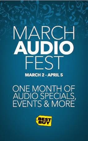 March Audio Fest Best Buy