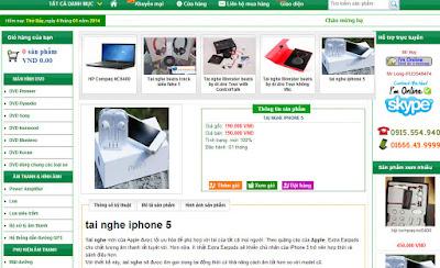 Chia sẻ template blogspot bán hàng miễn phí tuyệt đẹp