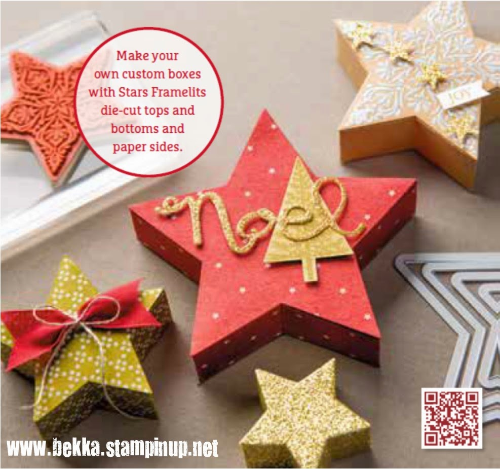 How to make Star Shaped Boxes - a video from Stampin' Up!