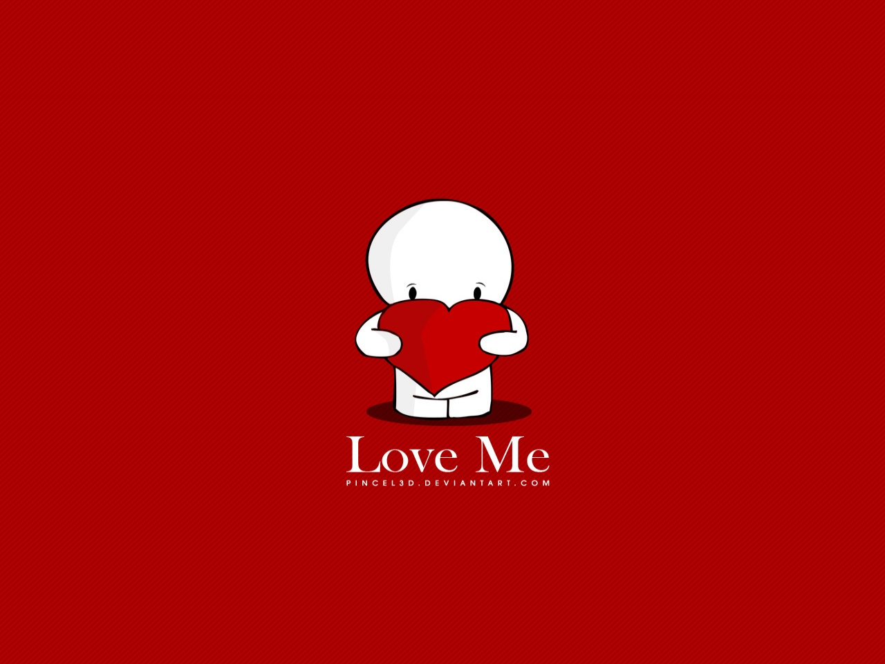 Love Me Wallpaper in HD for Desktop