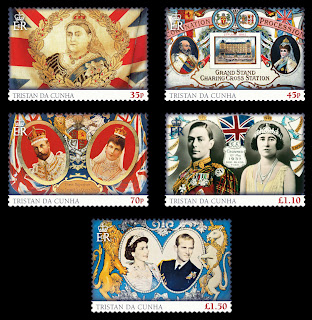 Tristan da Cunha – 60th Anniversary of the Coronation of H.M. Queen Elizabeth II - www.pobjoystamps.com