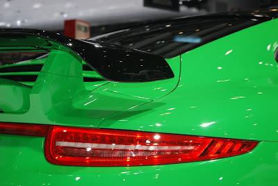 Salon de l'auto de Genève 2013: la Porsche 991 Carrera 4 Emerald Green de Techart