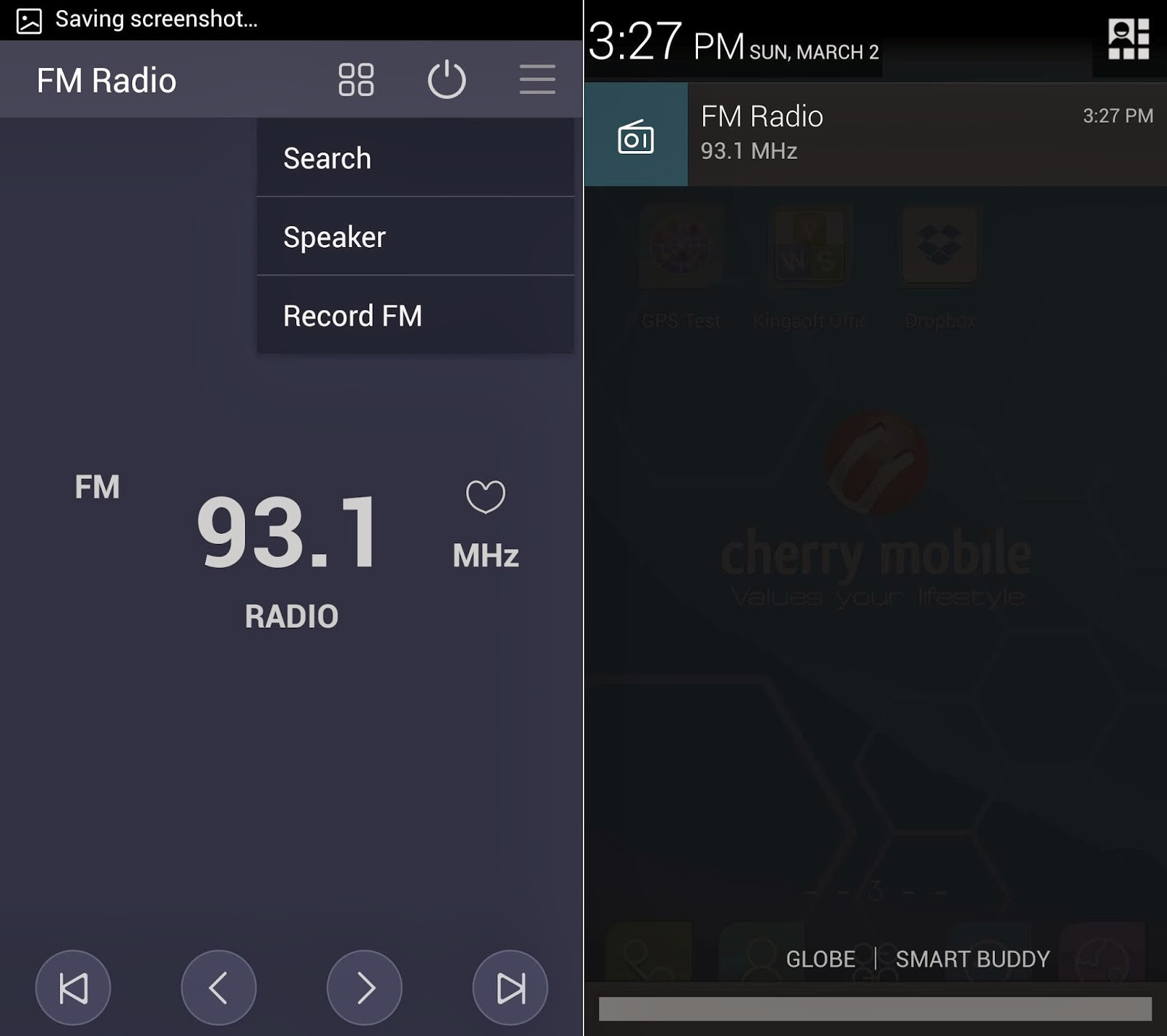 Cherry Mobile Cosmos Z2 Review FM Radio