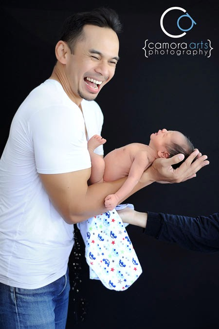 Eksklusif: Sesi Fotografi Anak Ke-2 Norman Hakim & Memey