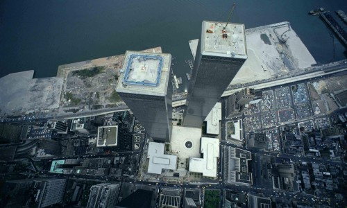 World Trade Centre aerial view