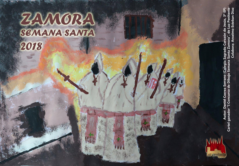 "CARTEL INFANTIL ASOCIACIÓN LUZ PENITENTE ""SEMANA SANTA 2018"""